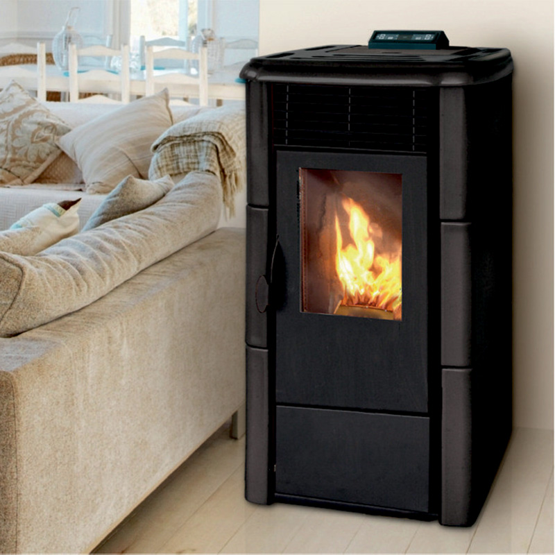 po le granul s roma 6 5kw eco 39 flamm. Black Bedroom Furniture Sets. Home Design Ideas