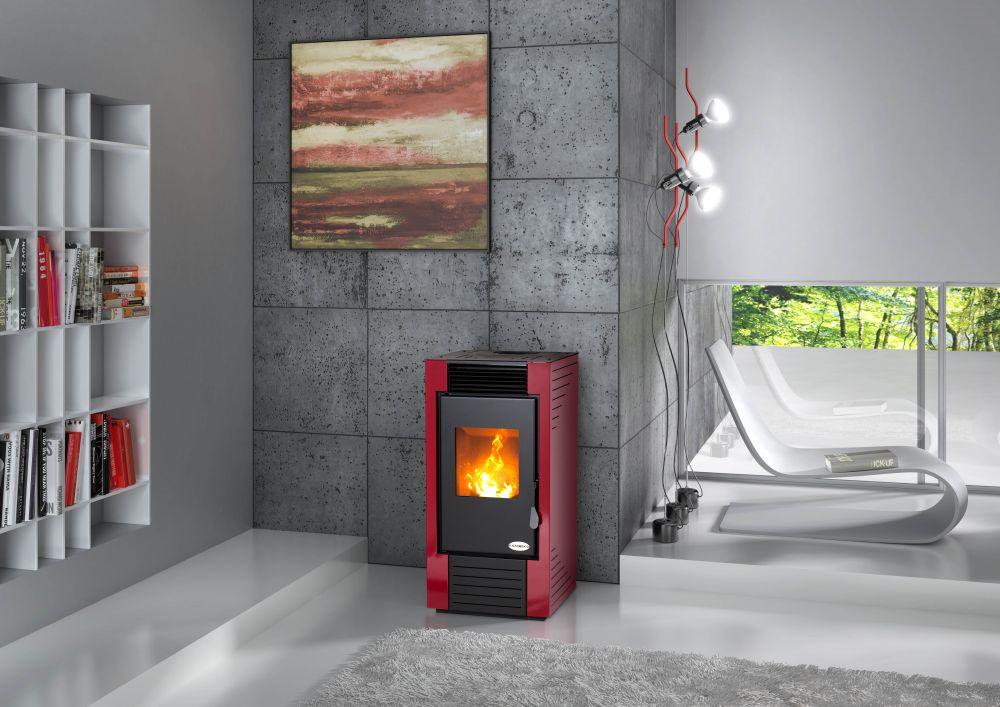 po le granul s lisbona 7 0kw eco 39 flamm. Black Bedroom Furniture Sets. Home Design Ideas
