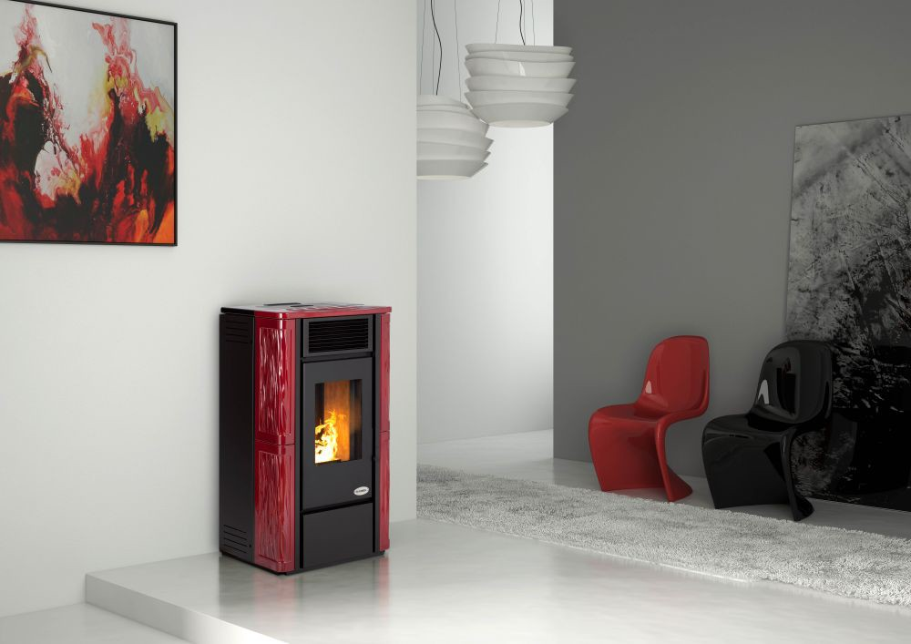 po le granul s parigi 11kw eco 39 flamm. Black Bedroom Furniture Sets. Home Design Ideas